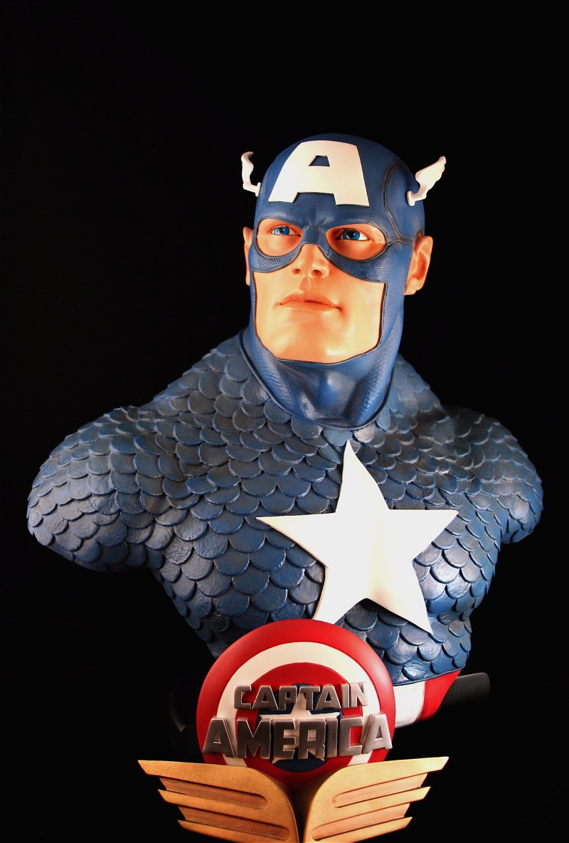 CAPTAIN AMERICA Legendary scale bust 140709-LSB-cap_4