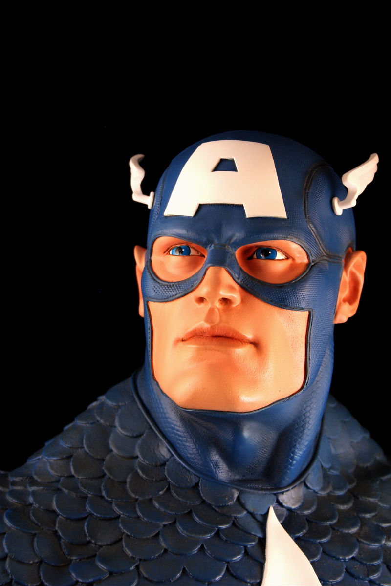 CAPTAIN AMERICA Legendary scale bust 140709-LSB-cap_5