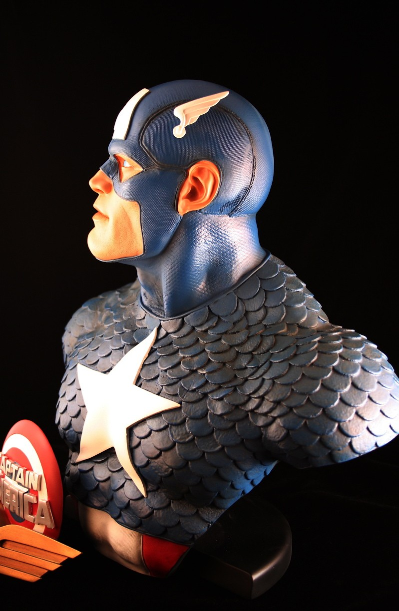 CAPTAIN AMERICA Legendary scale bust 140709-LSB-cap_7