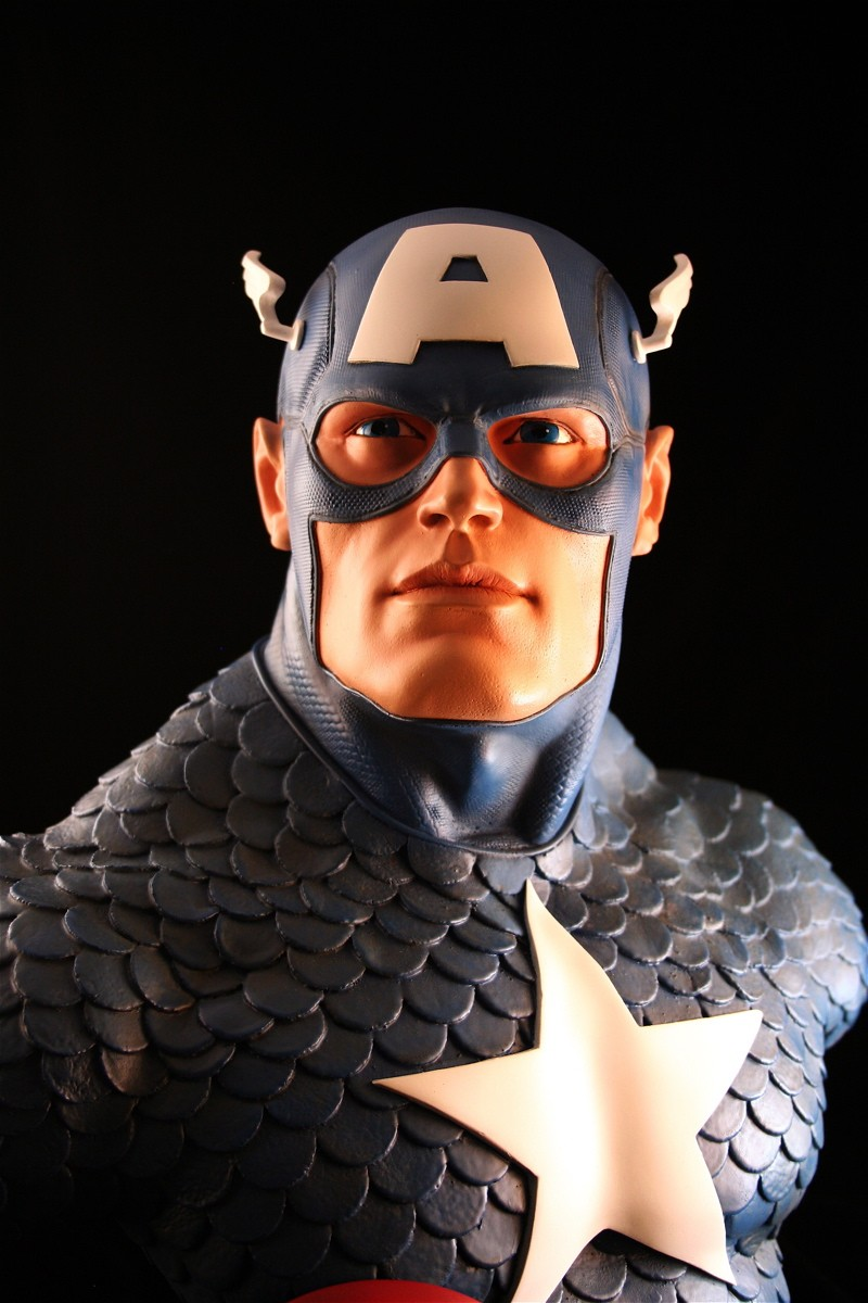 CAPTAIN AMERICA Legendary scale bust 140709-LSB-cap_8