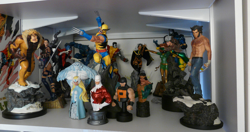 La p'tite collection de Micky Willis Marvel3