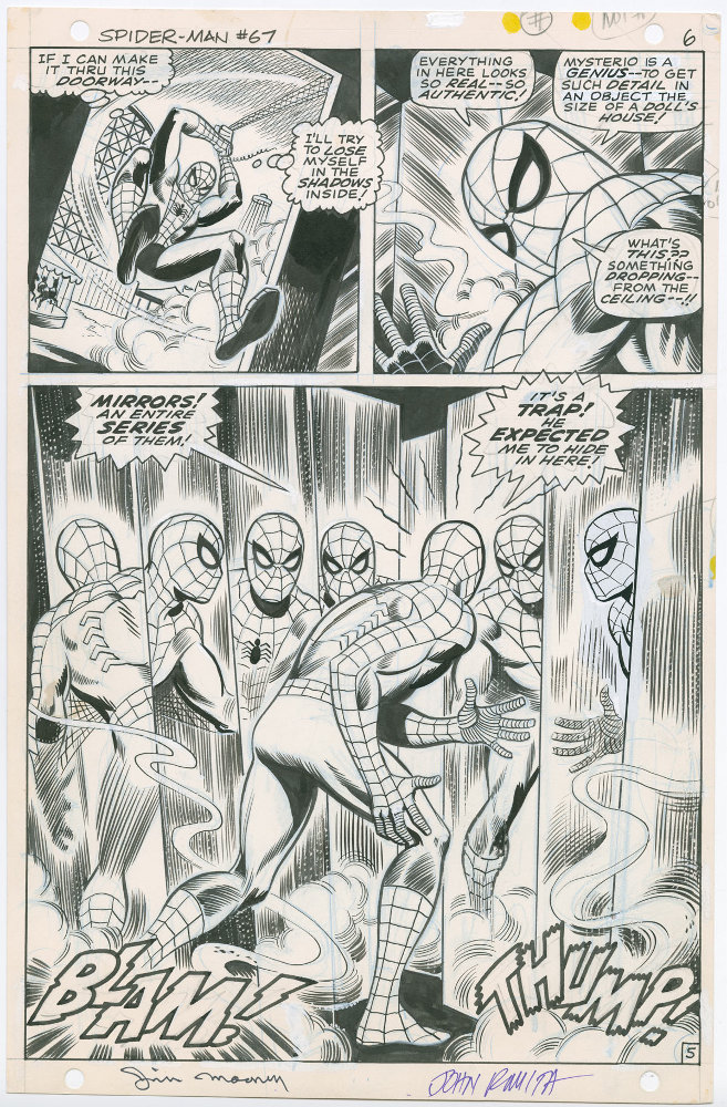 JOHN ROMITA's The Amazing Spider-Man: Artist's edition ROMITA_2