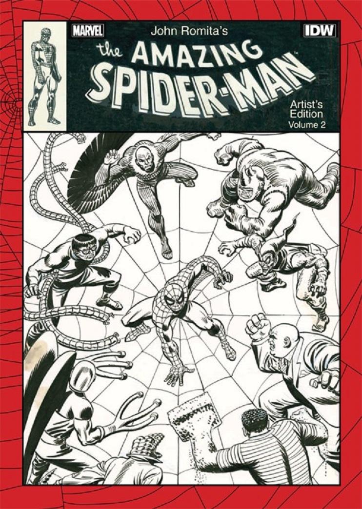 JOHN ROMITA's The Amazing Spider-Man: Artist's edition Romita_asm_v2_1_