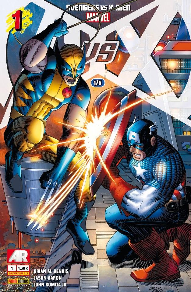AVENGERS VS X-MEN AVENGERS_VS_X-MEN_1_JR_jr_