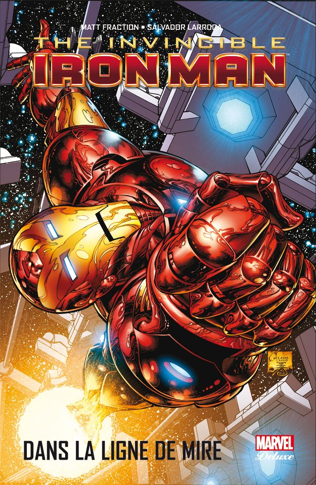 SORTIES LIBRAIRIE PANINI SEPTEMBRE 2012 MARVEL_DELUXE__INVINCIBLE_IRON_MAN_1