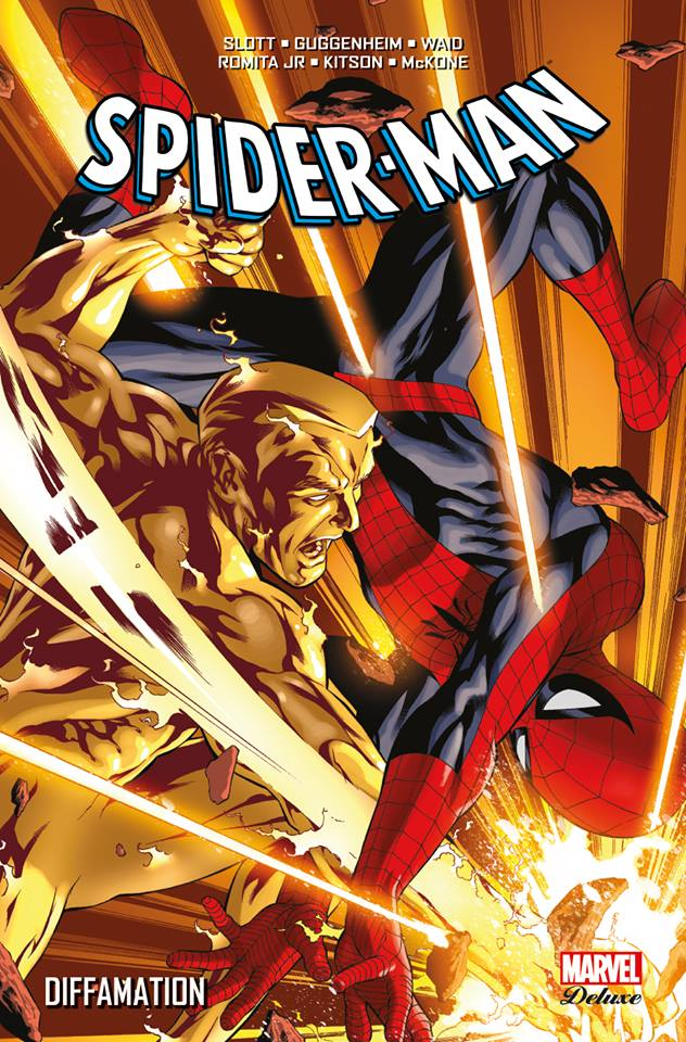 SORTIES LIBRAIRIES PANINI NOVEMBRE 2015 MARVEL_DELUXE__SPIDER-MAN_-_DIFFAMATION__