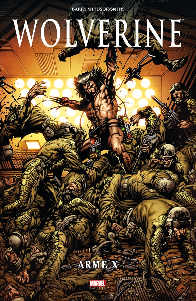 SORTIES LIBRAIRIE PANINI SEPTEMBRE 2012 MARVEL_GOLD__WOLVERINE___ARME_X