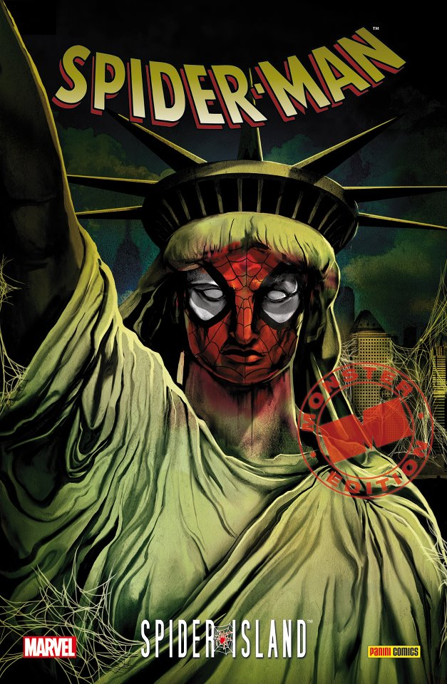 SORTIES LIBRAIRIE PANINI SEPTEMBRE 2012 MARVEL_MONSTER_EDITION__SPIDER-MAN___SPIDER-ISLAND