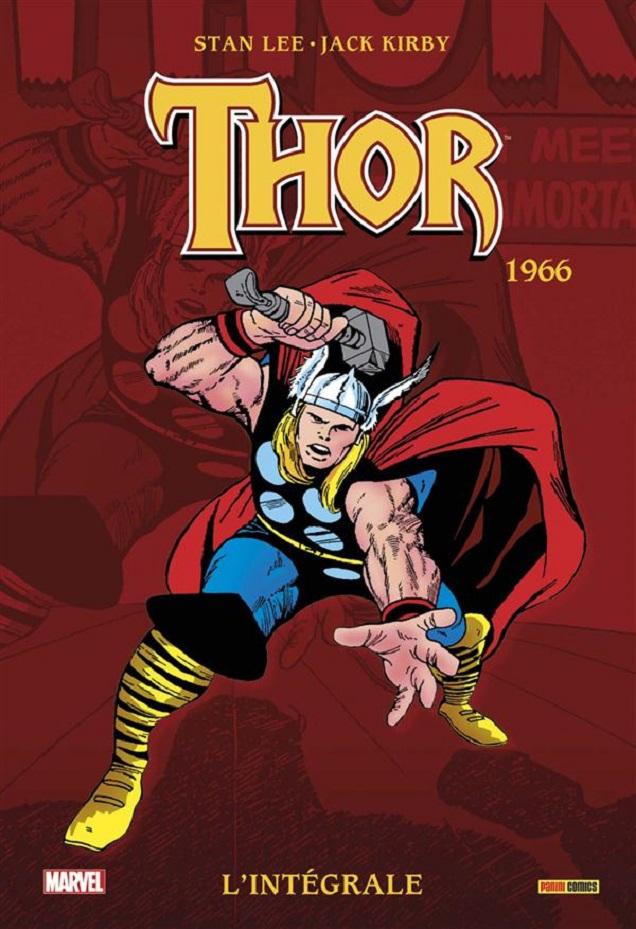 SORTIES LIBRAIRIES PANINI NOVEMBRE 2015 Thor_-_Integrale_1966_
