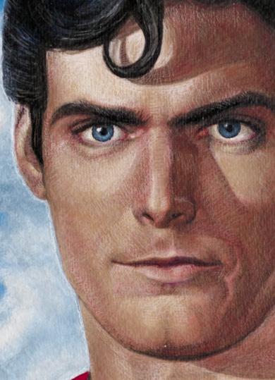 Superman/Chris Reeve : Portrait peinture SupermanChris_Reeve__Portrait_peinture_12136713276_2272ac5d67_o_1_
