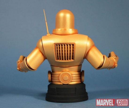 IRON- MAN  MARK II GOLD ARMOR MINI BUST GENTLE GIANT IRON_MAN_MARK_II_3