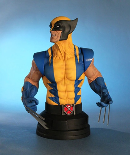 WOLVERINE YELLOW AND BLUE MINI BUST WOLVERINE_GG_3