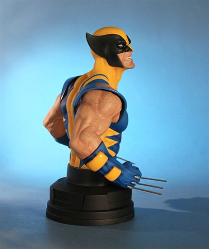 WOLVERINE YELLOW AND BLUE MINI BUST WOLVERINE_GG_5