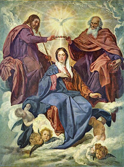Sainte Marie,Mère de Dieu. Coronation