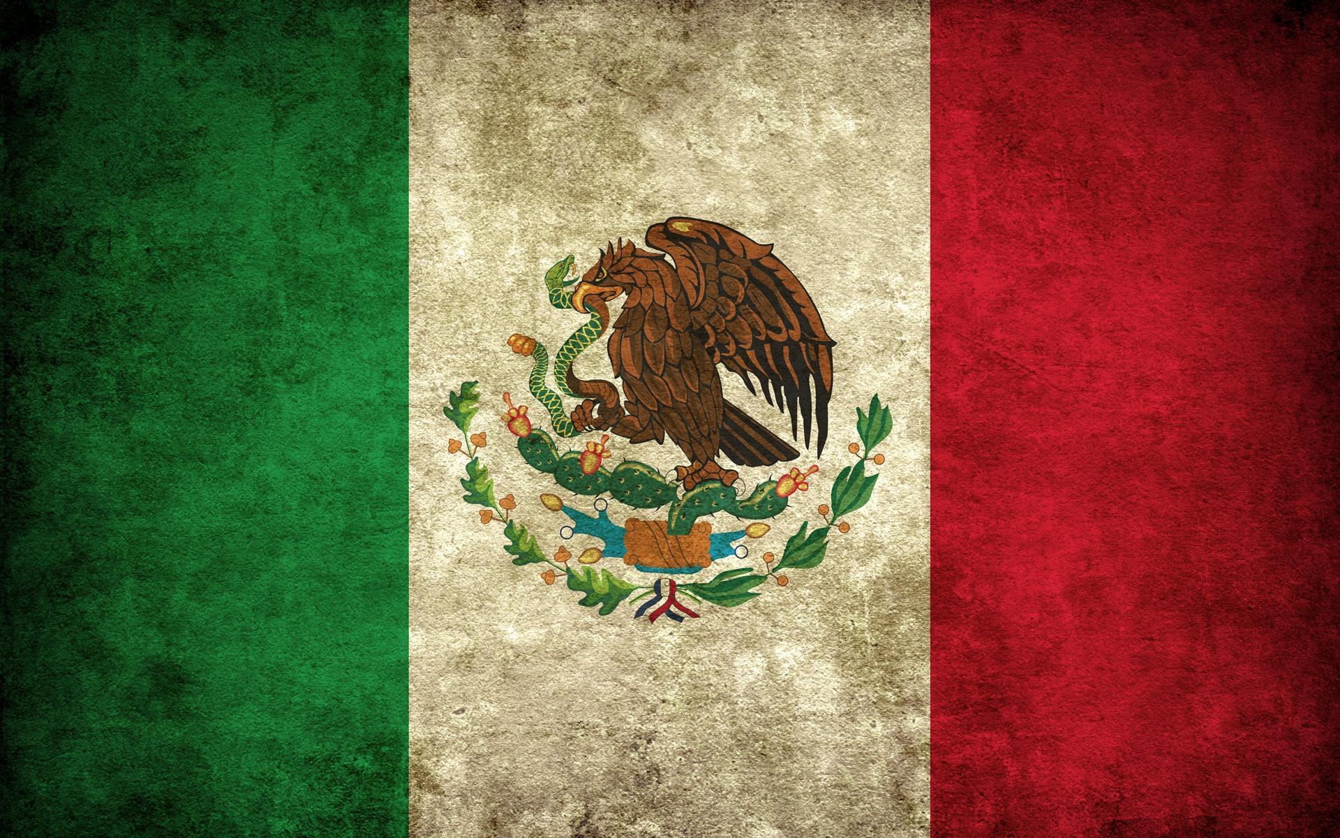 Y donde esta el tema flood? Bandera_Mexico