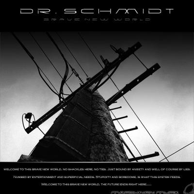 Dr Schmidt - Brave New World - Maschinen Musik Mm18-400x400
