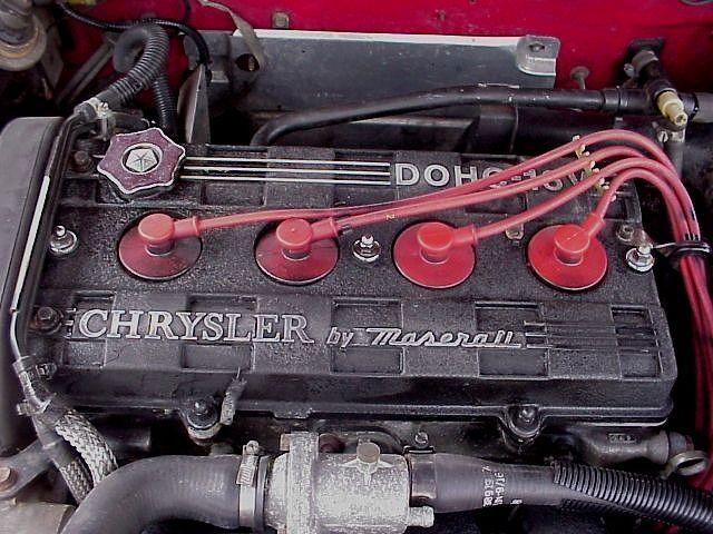 Chrysler TC Maserati Chryslertc-enginea