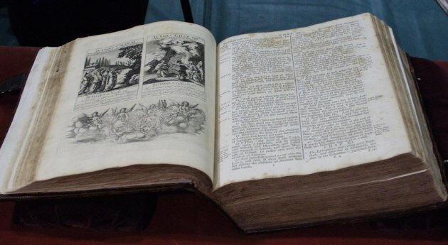 Les Bibles utilisées pour les investitures présidentielles américaine Washin1