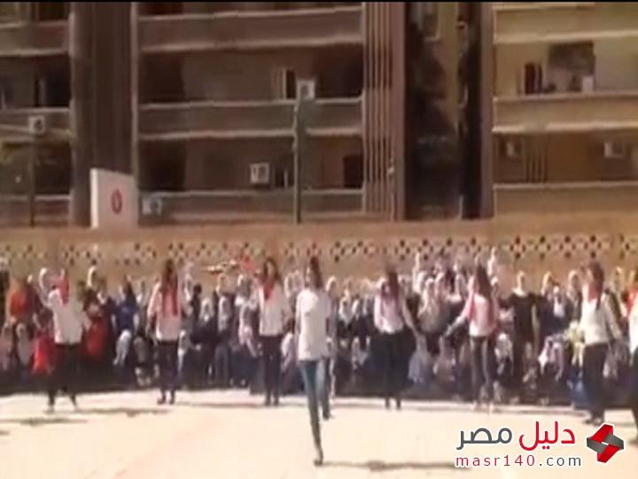 الفضيحة الكبرى طالبات اسكندرية فى مصر يرقصون بجنون على بشرة خير 320151011959