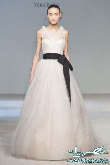 فساتين زفاف للمجبات وغير المحجبات 2012 - فساتين زفاف 2013  2011-wedding-dresses-012