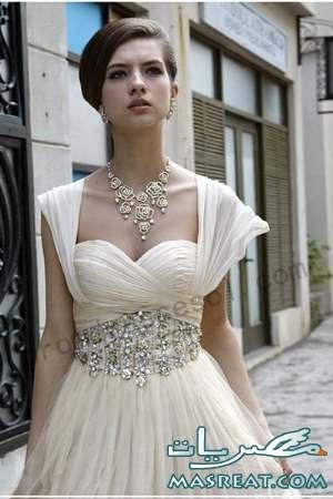 فساتين زفاف للمجبات وغير المحجبات 2012 - فساتين زفاف 2013  2011-wedding-dresses-3