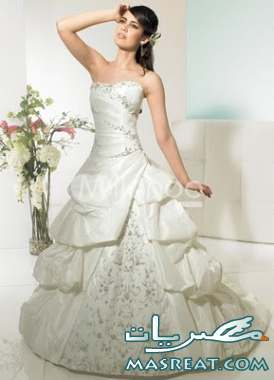 فساتين زفاف للمجبات وغير المحجبات 2012 - فساتين زفاف 2013  2011-wedding-dresses-7