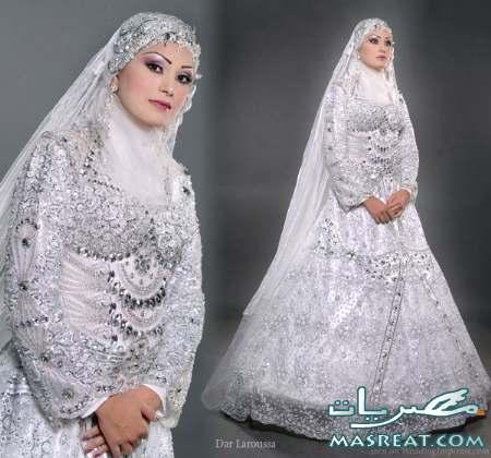 فساتين زفاف للمجبات وغير المحجبات 2012 - فساتين زفاف 2013  2011-wedding-dresses-8