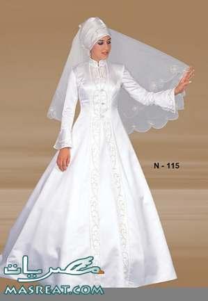 فساتين زفاف للمجبات وغير المحجبات 2012 - فساتين زفاف 2013  2011-wedding-dresses-9