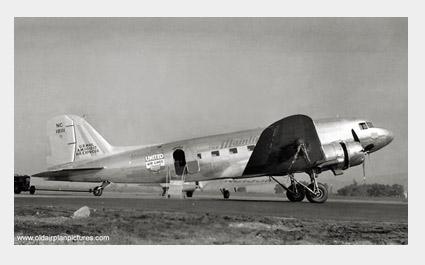 DOUGLAS DC3 UALDC3-0