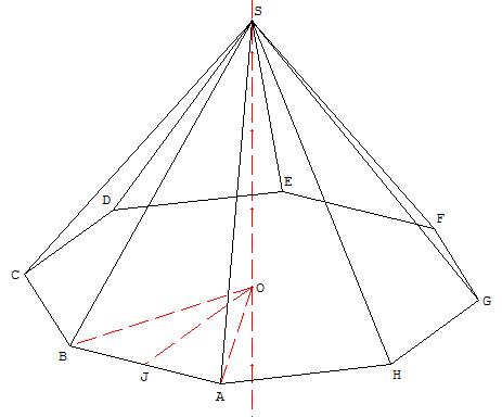 بحث حول الهرم المنتظم ومخروط الدوران  Pyramide_octogone