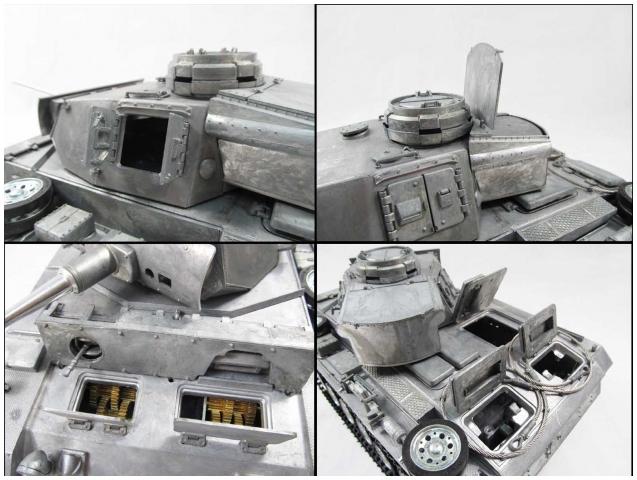 Mato Panzer III full metal 1233-8