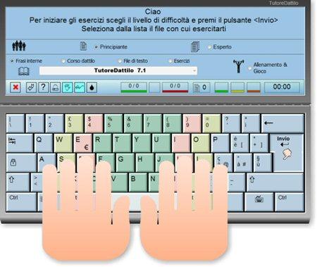SOFTWARE per imparare  a digitare sulla tastiera  Tutore