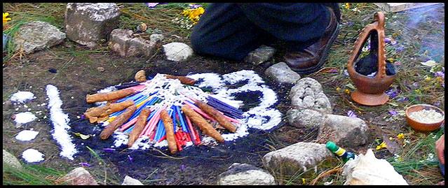 Tzolkin Trecena Notes – 1 Flint (Etznab) Fire_ceremony_2012