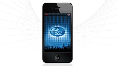تطبيقArab Idol ArabIdol_%20iphone