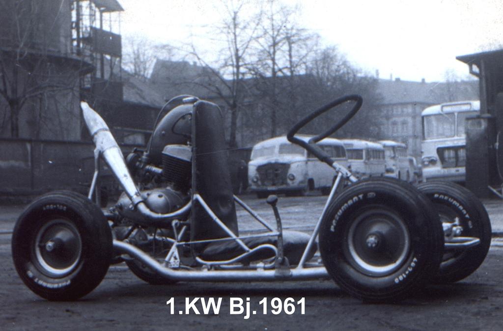K-Wagen : les karts de RDA 1.Kart