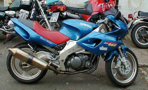 La moto de mes reves. Szr660