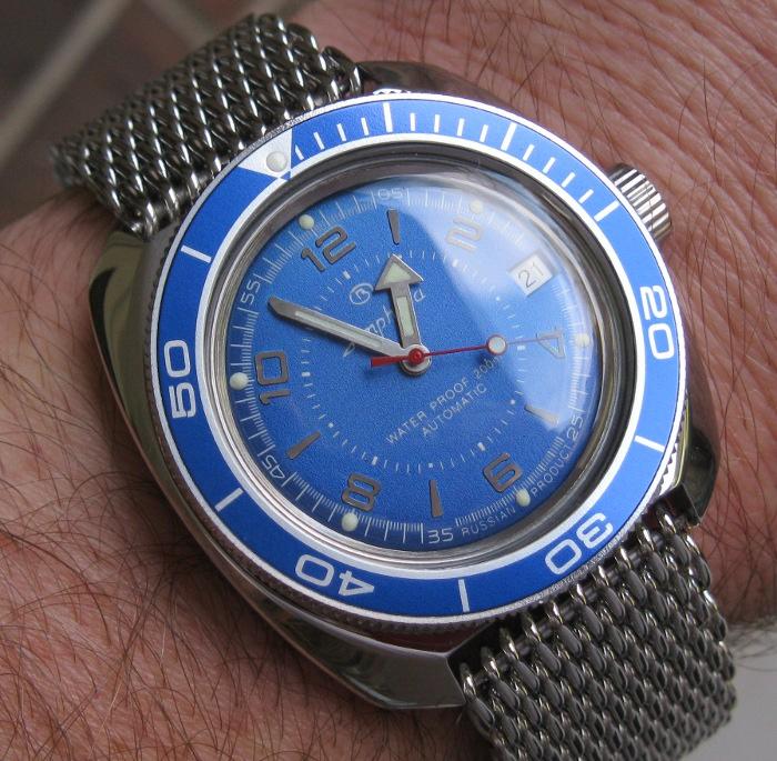 Remplacement lunette Vostok Amphibia IMG_7842