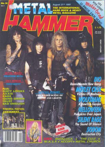 Metal Hammer: la revista con las que nos hicimos jevis pa' to' la vida - Página 2 1989%20Aug%20Metal%20hammer%20england