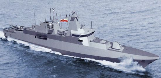 شراء 4 كورفيت وعقد جديد لبيع غواصتين U -209  - صفحة 2 Model_a100_polish