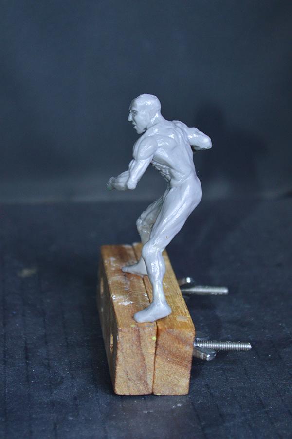 Captain america 75mm Figurine75mm.03