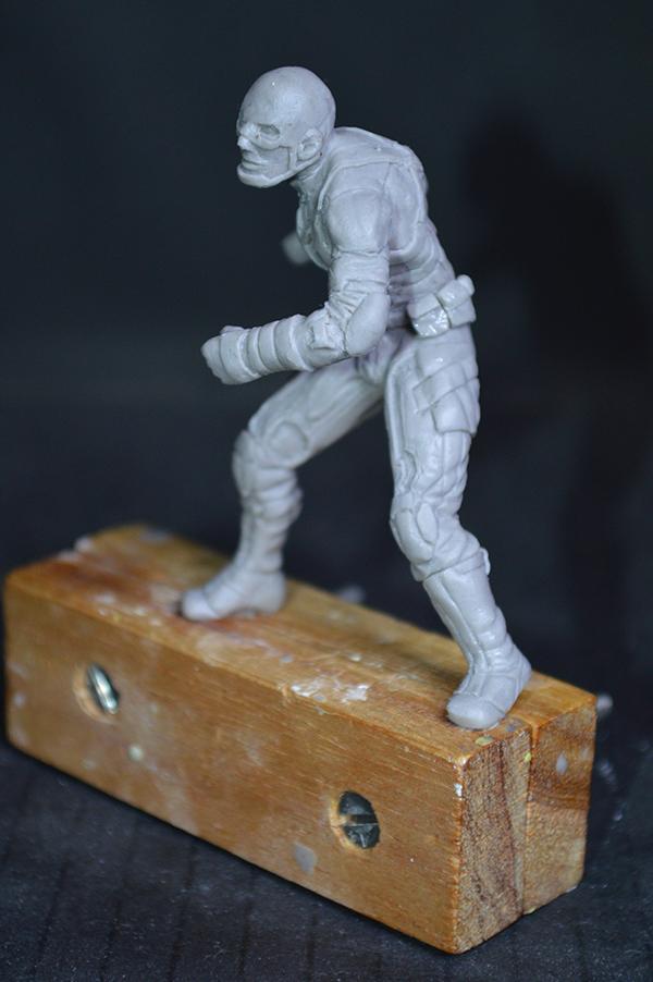 Captain america 75mm Figurine75mm.22