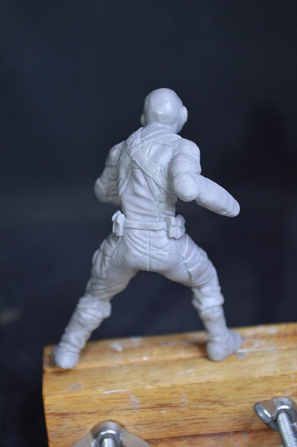Captain america 75mm Figurine75mm.25