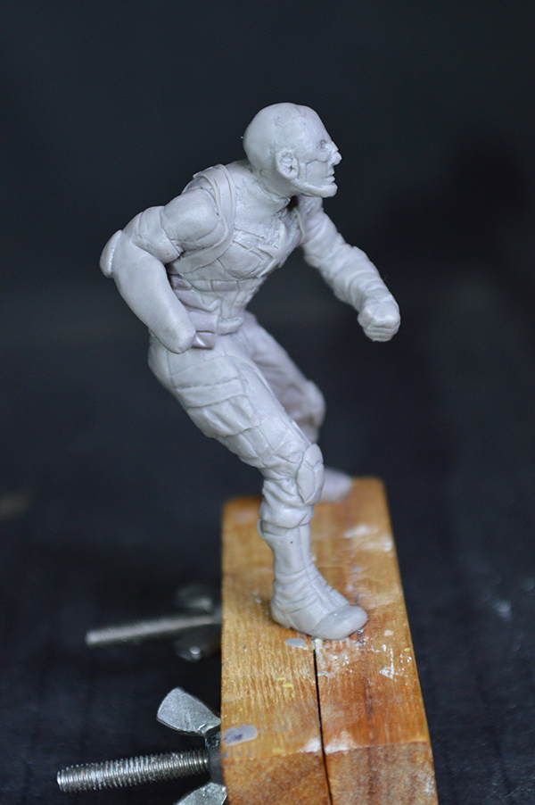 Captain america 75mm Figurine75mm.27