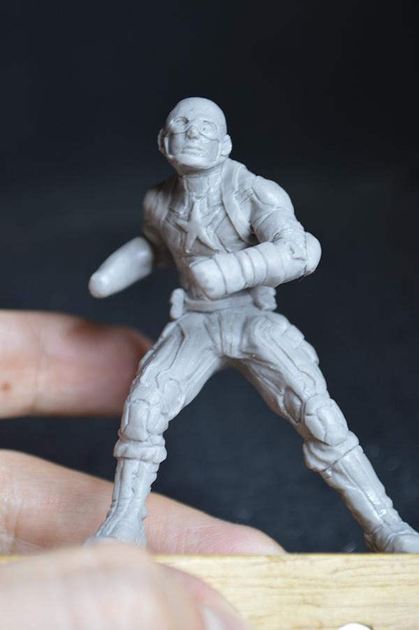 Captain america 75mm Figurine75mm.28