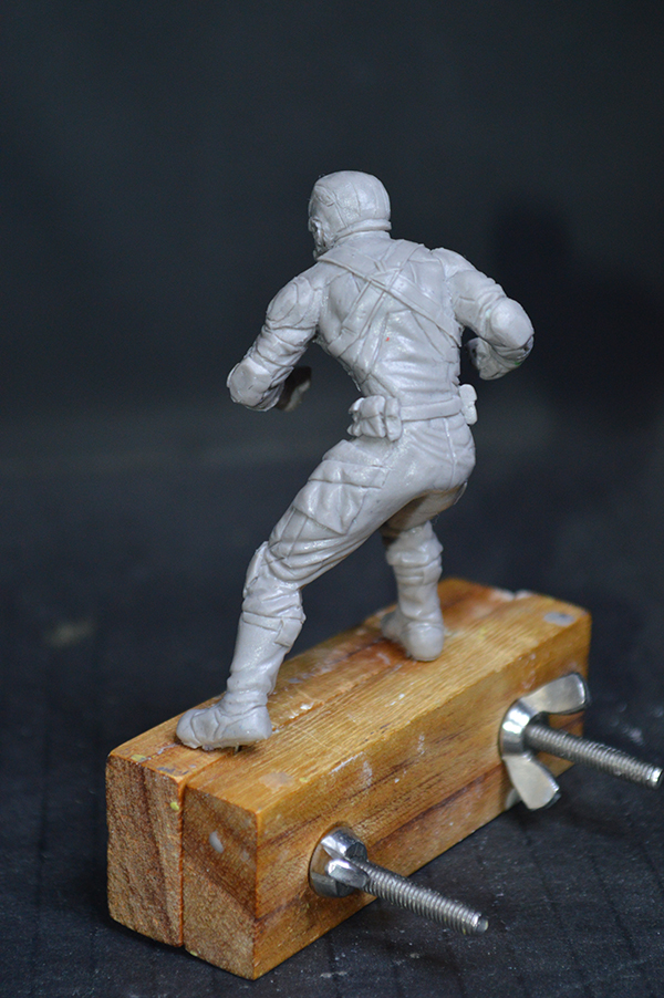 Captain america 75mm Figurine75mm.34