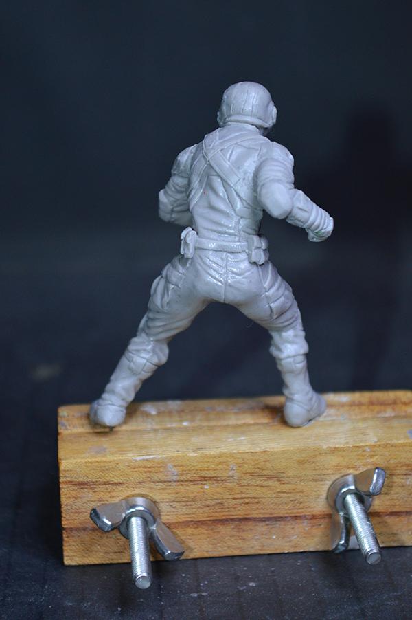 Captain america 75mm Figurine75mm.35