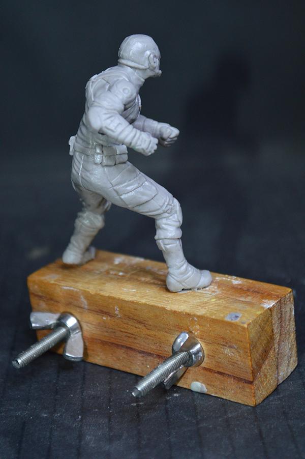 Captain america 75mm Figurine75mm.36