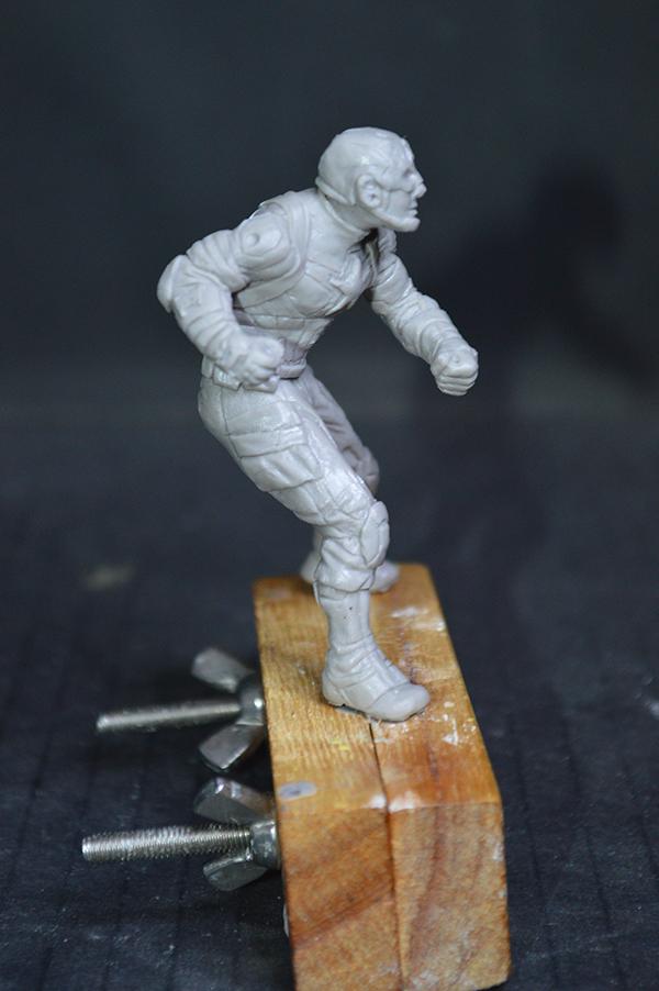 Captain america 75mm Figurine75mm.37