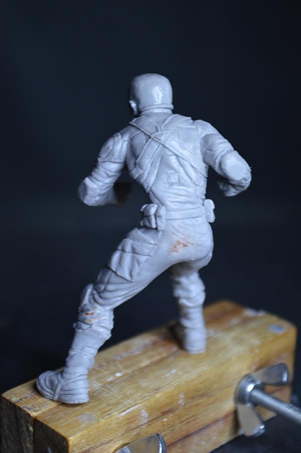 Captain america 75mm Figurine75mm.44