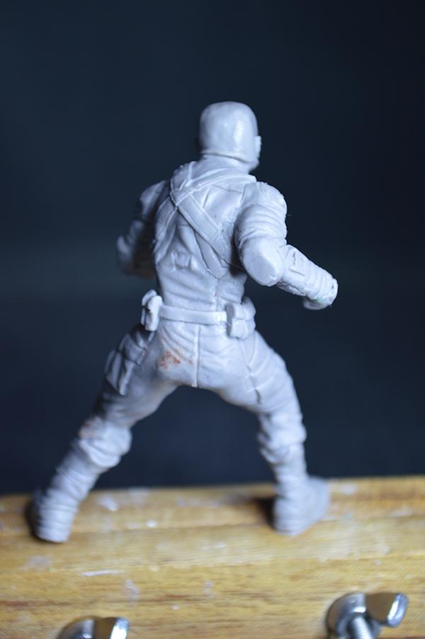 Captain america 75mm Figurine75mm.45
